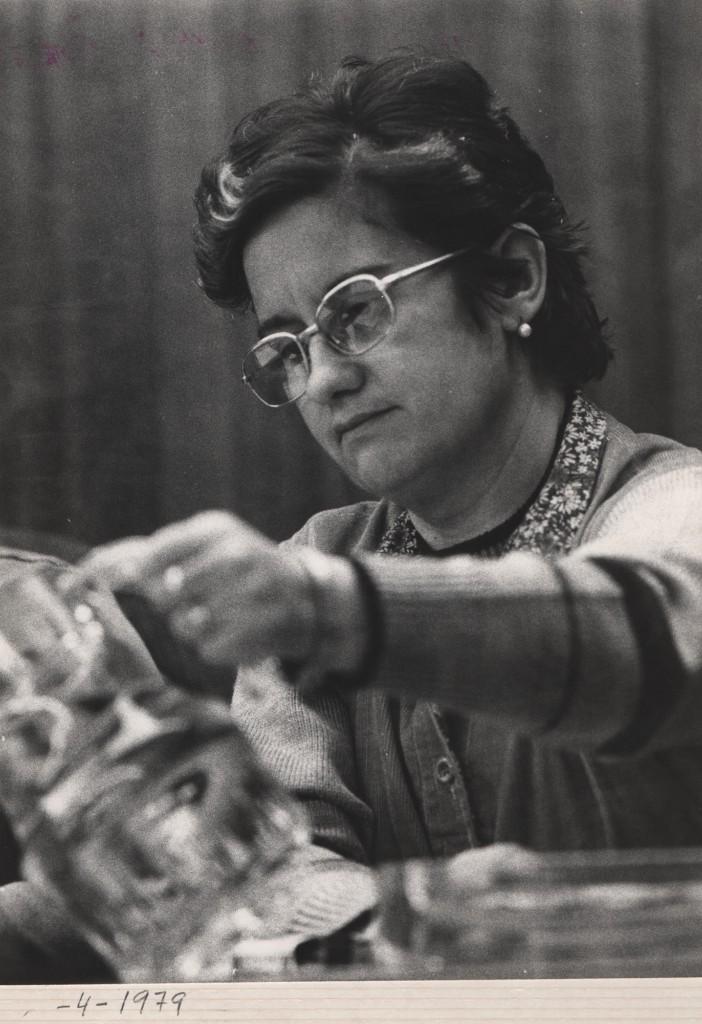 Fotografía de Carmen Ferrero en 1979