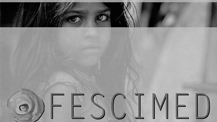 "Cartel del festival ""Fescimed"""