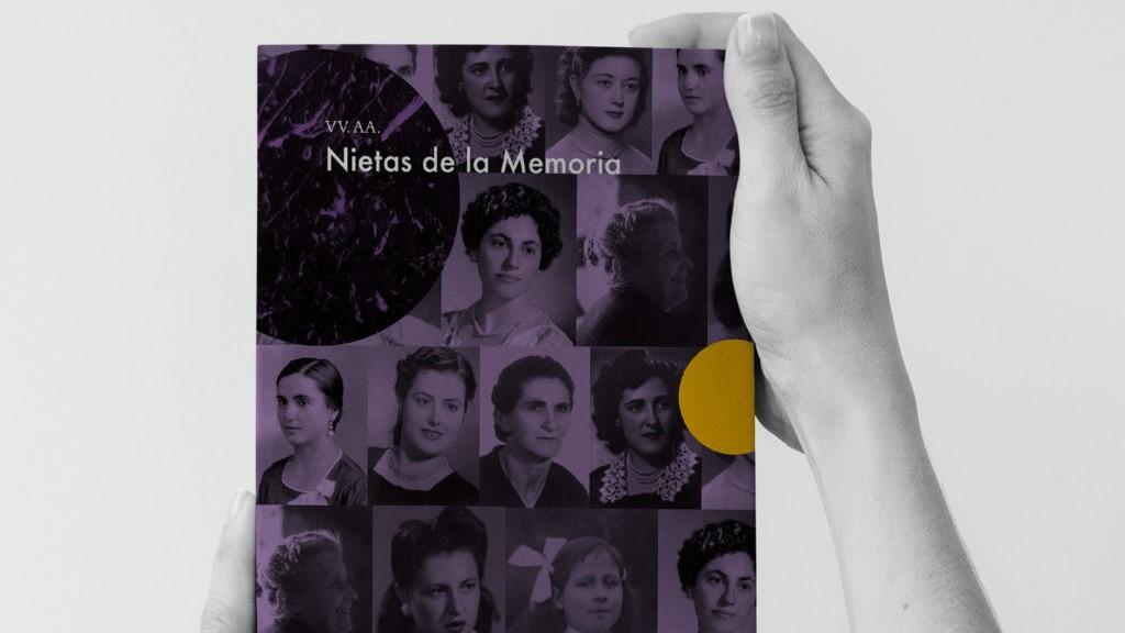 """Portada del libro """"Nietas de la memoria"""""""