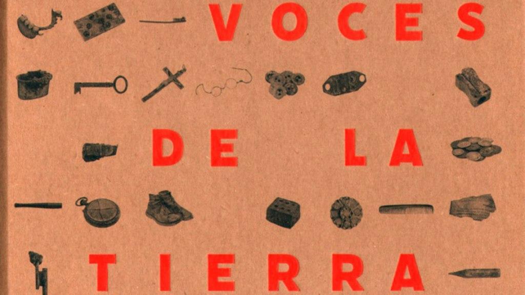 """Portada del libro """"Las voces de la tierra"""""""