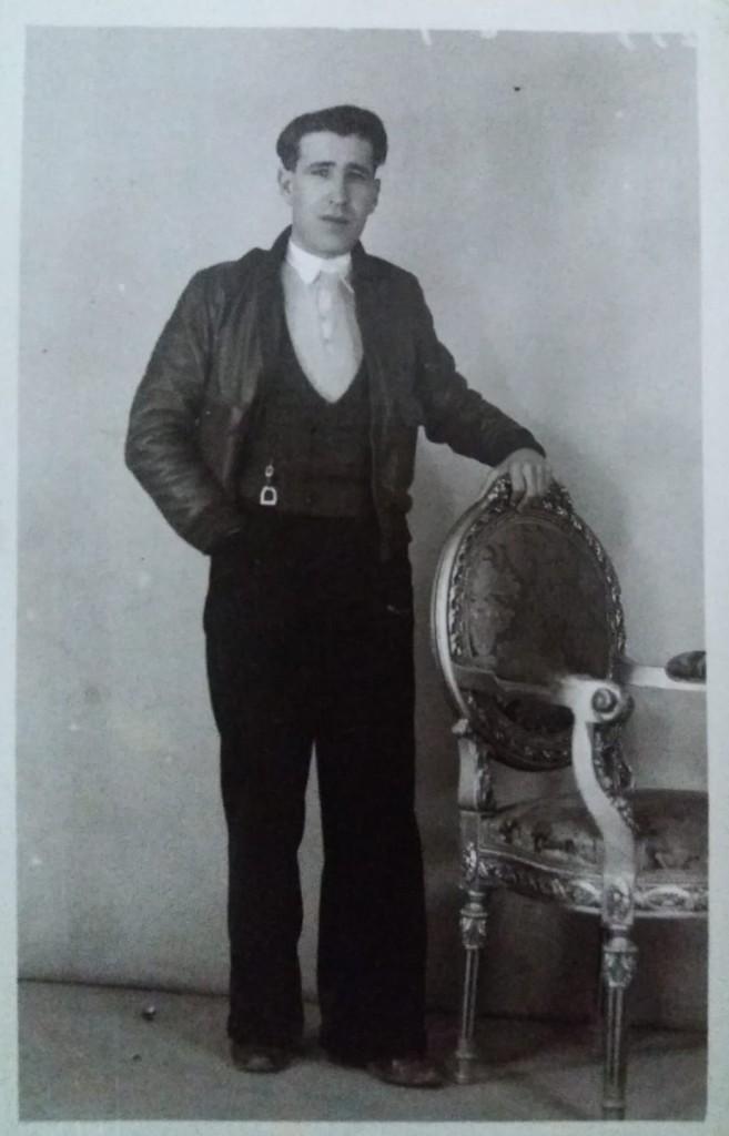 Fotografía del abuelo de Luis S. Fernández