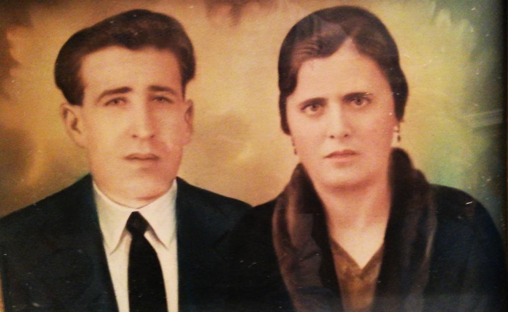 Fotografía de los abuelos de Luis S. Fernández